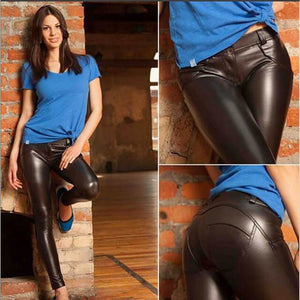 Discover the  Limited Edition Leather Leggings - Luxur Path