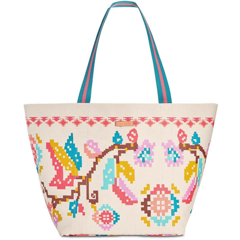 Vera Bradley Canvas Beach Pool XL Tote - Reke's Sales