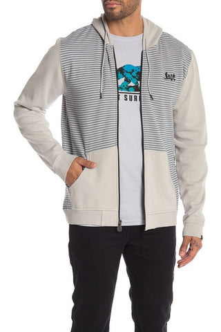 ...Lost Zip Front Fleece Hoodie - Reke's Sales