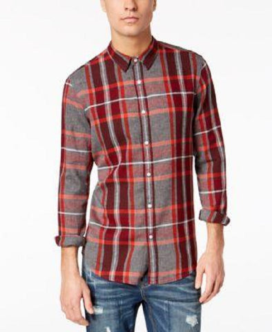 American Rag Men's Plaid Shirt (Size M, XL) - Rekes Sales