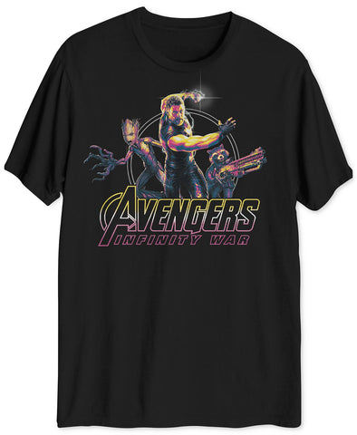 Hybrid Thor Avengers Men's Big & Tall Graphic T-Shirt (Size S) - Rekes Sales