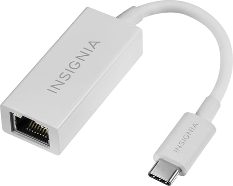 Insignia - USB Type-C to Gigabit Ethernet Adapter - Rekes Sales
