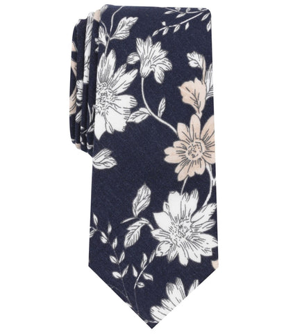 Bar III Mens Fregate Floral Self-tied Necktie - Reke's Sales