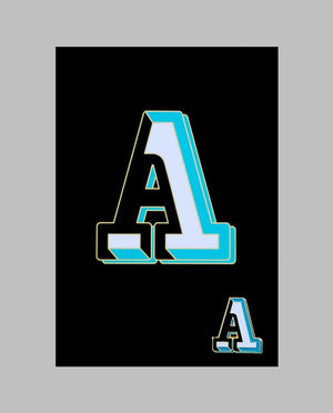 "Letter ""A"" Pin"