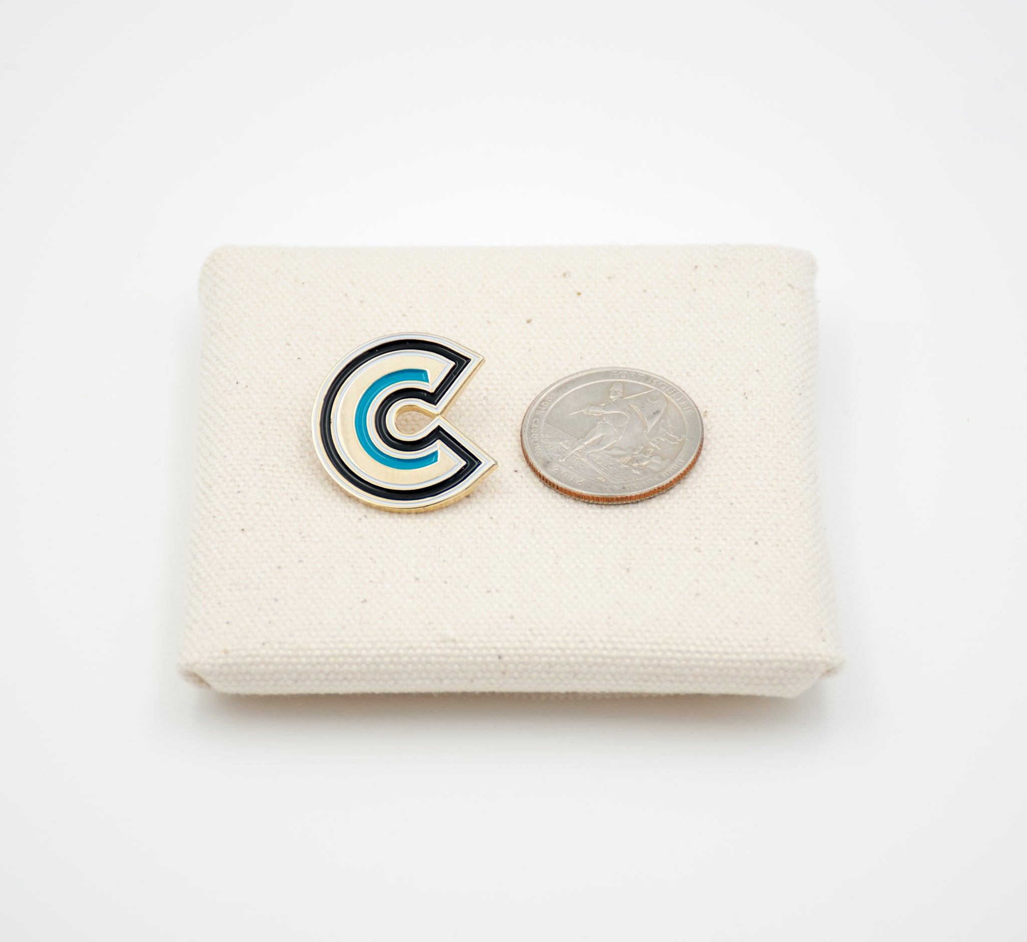 "Letter ""C"" Pin"