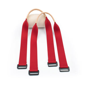 Cherry Red Tote Straps