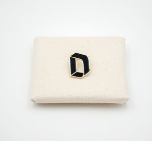 "Letter ""D"" Pin"
