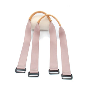 Dusty Rose Tote Straps