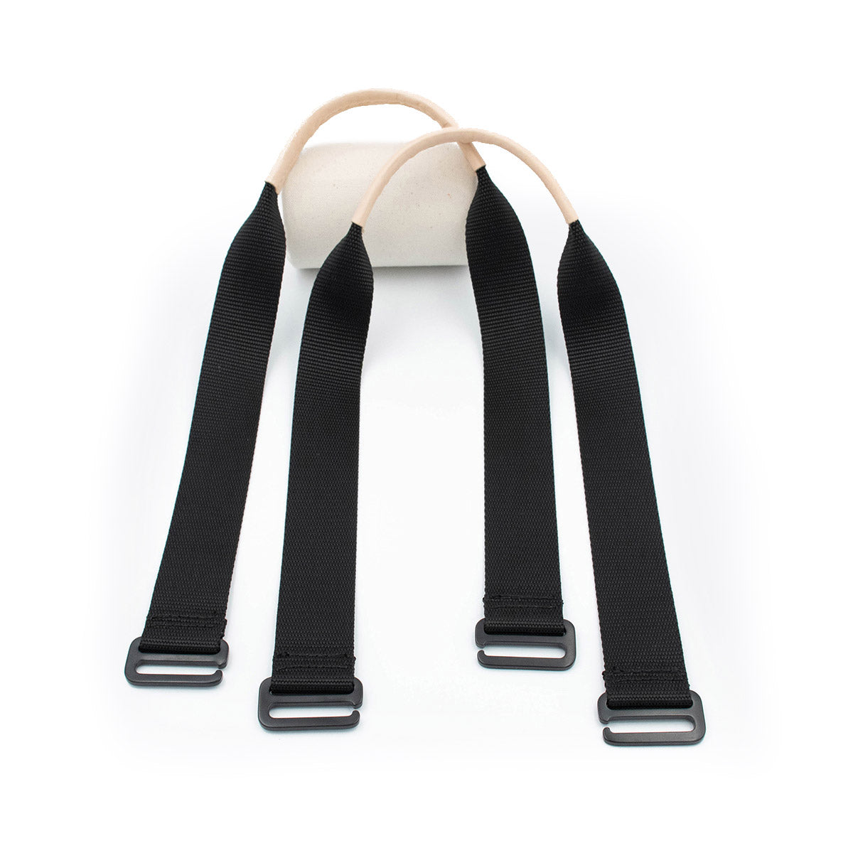 Pitch Black Tote Straps