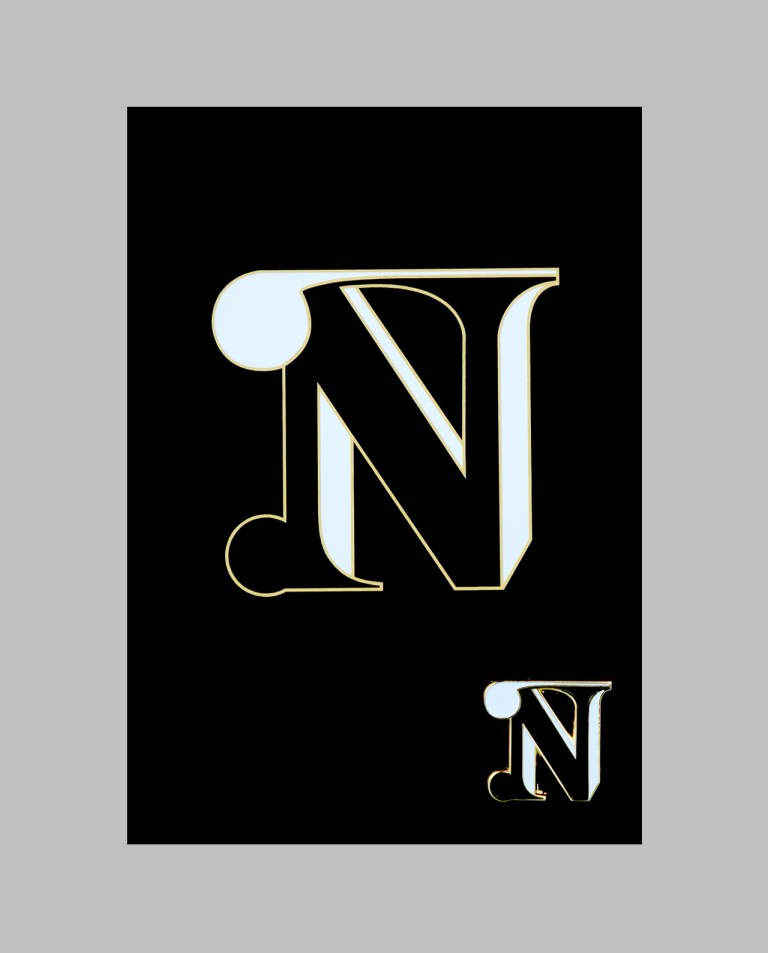 "Letter ""N"" Pin"