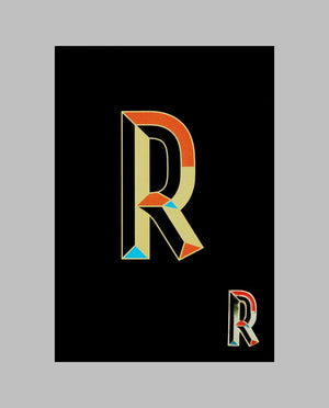 "Letter ""R"" Pin"