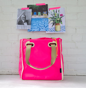 Vibrant Pink Tote Cover