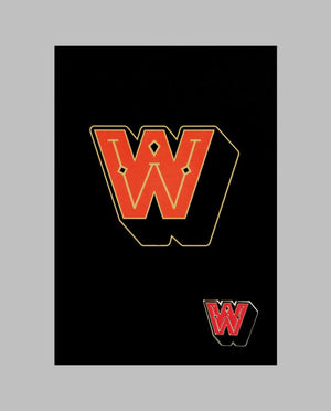 "Letter ""W"" Pin"