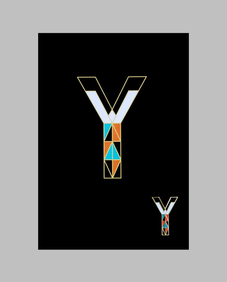 "Letter ""Y"" Pin"
