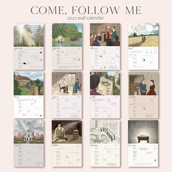 2021 Come, Follow Me Calendar
