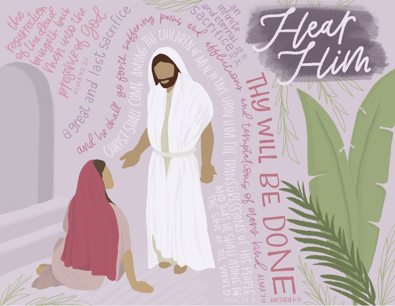 Hear Him - Easter Print