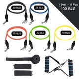 D1 of Resistance Band Set ( 11 Piece Set ) - 50% OFF & Free Shipping - ONLY TODAY