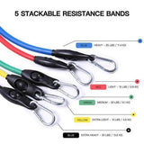 U1 of Resistance Band Set ( 11 Piece Set ) - 50% OFF & Free Shipping - ONLY TODAY