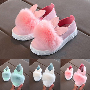 BUNNY POM POM SHOES