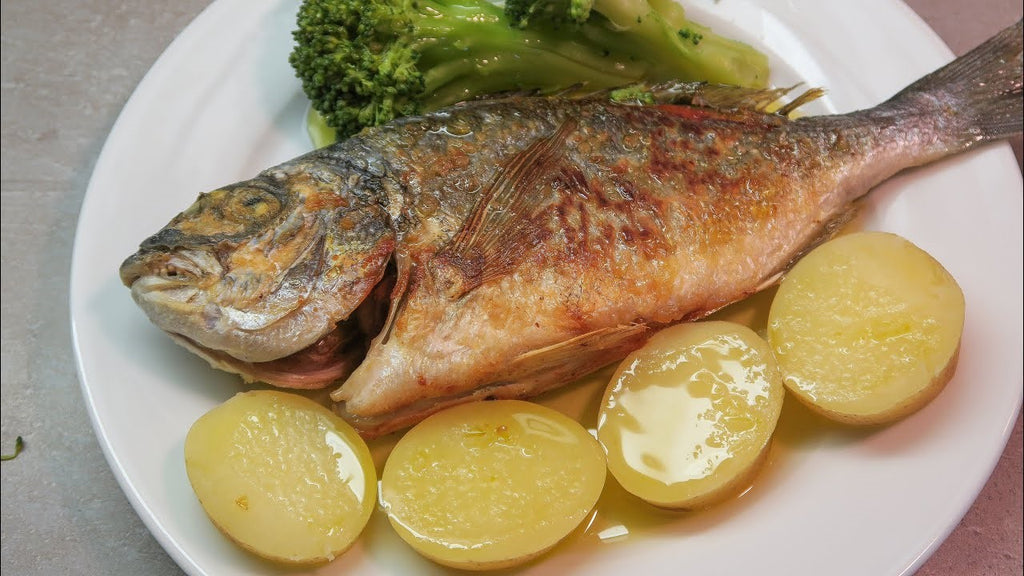 Roasted Sea Bream (or other fish!)