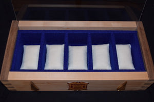 Dovetail Watch Box, Pontiff Blue