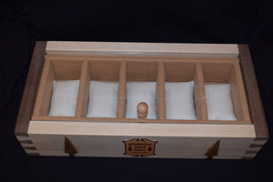 Dovetail Watch Box, Frontier Brown