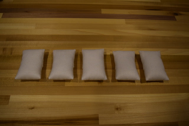 Linen Pillows, Set of 5