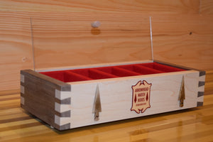 Dovetail Watch Box, North Woods Red