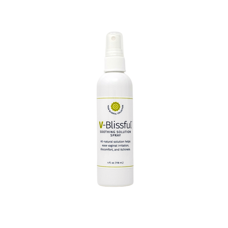 V-Blissful Soothing Spray Solution Natural Relief Spray 4 oz.