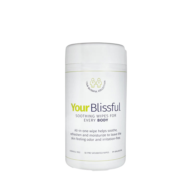 Your Blissful Soothing Wipes (50 Ct.)