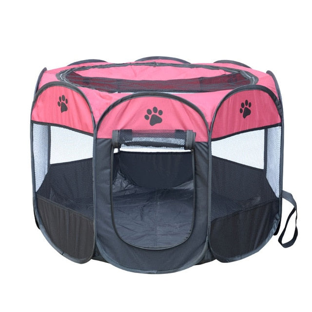 Portable Octagonal  Folding Pet Fence