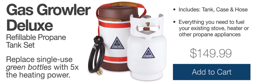 Ignik Gas Growler Deluxe