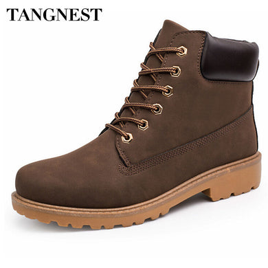 Men Martin Boots Autumn