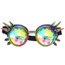 Load image into Gallery viewer, Kaleidoscope Woman Colorful Glasses