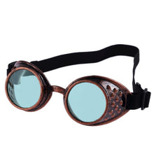 Load image into Gallery viewer, Vintage Steampunk Goggles Glasses