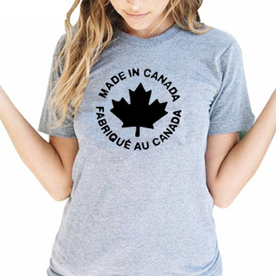 Made In Canada Clothes T-shirt for Women