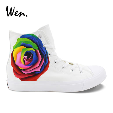 Multi Colour Rose High Top