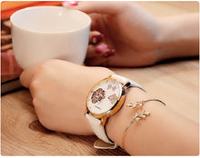 Load image into Gallery viewer, YAZOLE  Women'S Watches Rose Gold Watch Rhinestone Ladies Watch Creative Watch