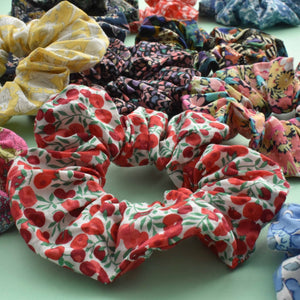 Tot knots of Brighton scrunchie Liberty London party bag gift ideas