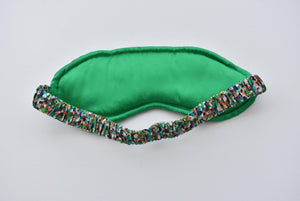 100% Pure Silk-lined Sleep Eye Mask - Various colours - Tot Knots of Brighton