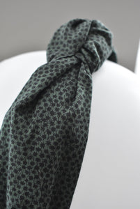 Ladies Tot Knot Alice band - Liberty of London Green Marco