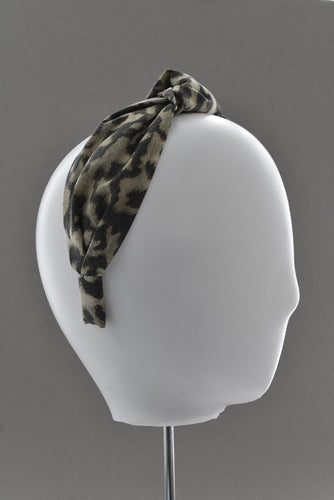 Kids Tot Knot Alice band - Liberty of London Animal print - Tot Knots of Brighton