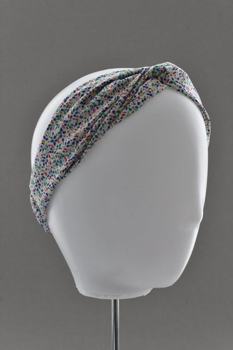 Kids Tot Knot Twisted hairband - Liberty of London Summertime print - Tot Knots of Brighton