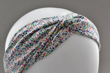 Ladies Twisted Turban Headband - Liberty of London Summertime print - Tot Knots of Brighton