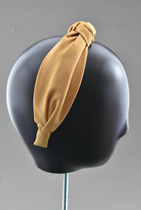 Ladies Tot Knot Alice band - Liberty of London Mustard Yellow