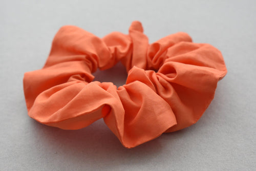 Liberty of London Tangerine Orange Scrunchie-Hair accessory-Tot Knots of Brighton