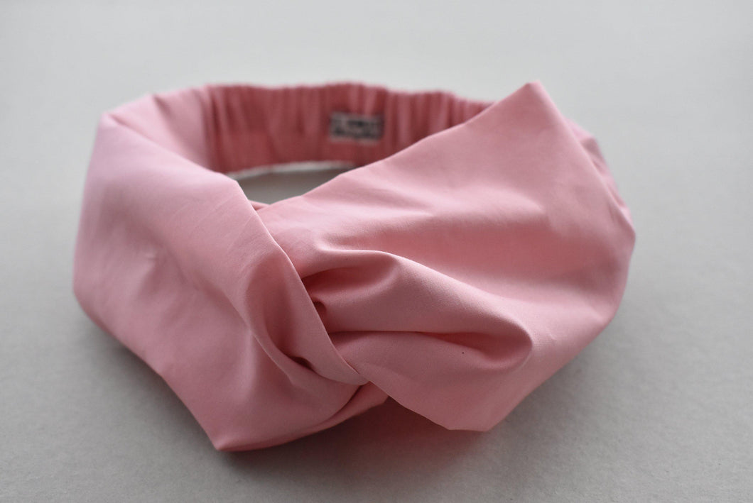 Kids Tot Knot Twisted hairband - Liberty of London Dusty Pink