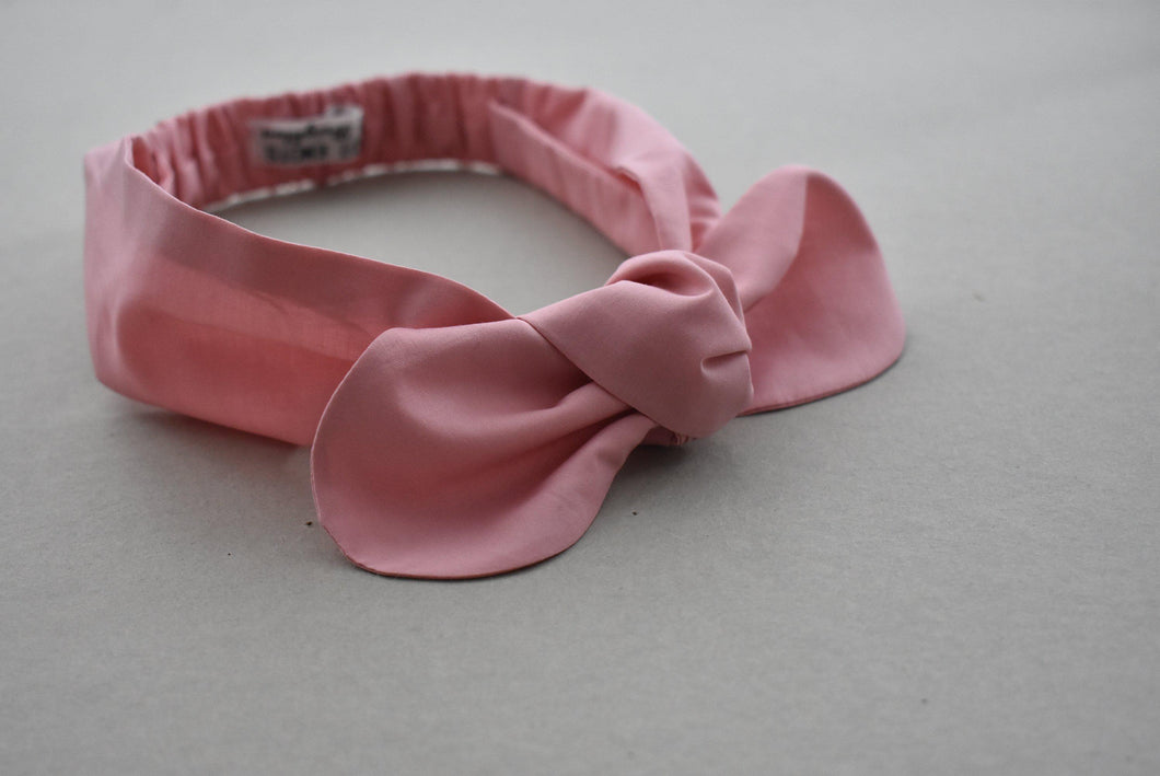 Kids Tot Knot Tie hairband - Liberty of London Dusty Pink