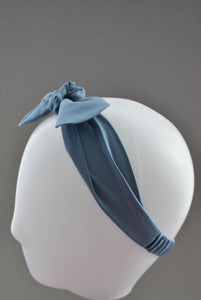 Ladies Tot Knot hairband - Liberty of London Aviator Blue