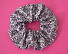Purple Pepper Ditsy Scrunchie - Tot Knots of Brighton